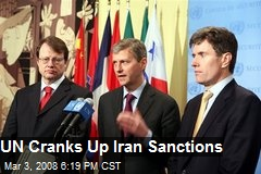 UN Cranks Up Iran Sanctions