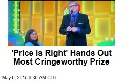 'Price Is Right' Hands Out Most Cringeworthy Prize