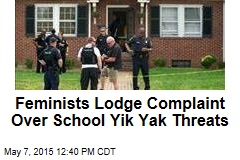 Feminists Lodge Complaint Over School Yik Yak Threats