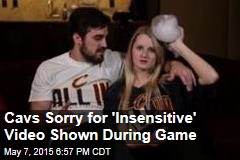 Cavs Sorry for 'Insensitive' Video Shown During Game