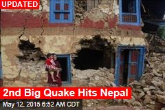 2nd Big Quake Hits Nepal