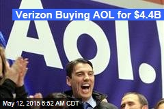 Verizon Buying AOL for $4.4B