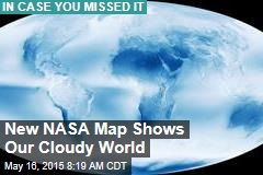 New NASA Map Shows Our Cloudy World