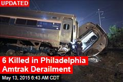 Dozens Hurt in Philadelphia Amtrak Derailment