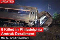Dozens Hurt in Philadelphia Amtrak Derailment