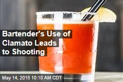 Bartender's Use of Clamato Leads to Shooting