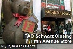 FAO Schwarz Closing Fifth Avenue Store