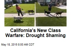 California's New Class Warfare: Drought Shaming