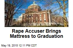 Rape Accuser Brings Mattress to Graduation