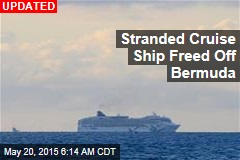Cruise Ship Runs Aground Off Bermuda