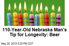 110-Year-Old Nebraska Man's Tip for Longevity: Beer