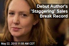 Debut Author's 'Staggering' Sales Break Record