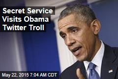 Secret Service Visits Obama Twitter Troll