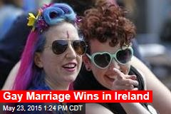 Gay Marriage Wins in Ireland
