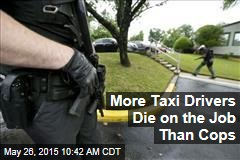 More Taxi Drivers Die on the Job Than Cops