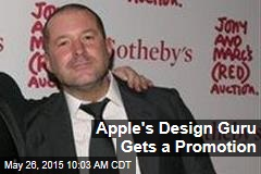 Apple's Design Guru Gets a Promotion