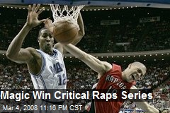 Magic Win Critical Raps Series