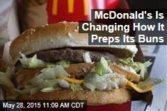 McDonald's Making Its Buns Toastier