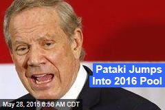 Pataki Jumps Into 2016 Pool