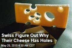 Swiss Figure Out Why Their Cheese Has Holes