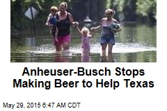 Anheuser-Busch Stops Making Beer to Help Texas