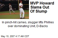 MVP Howard Slams Out Of Slump