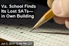 Va. School Finds Its Lost SATs— in Own Building