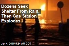 Ghana Gas Station Blast Kills 73