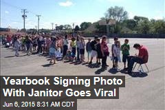 Yearbook Signing Photo Goes Viral