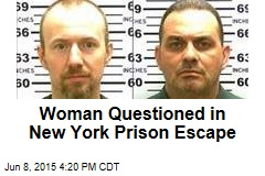 Woman Questioned in New York Prison Escape