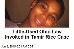 Little-Used Ohio Law Invoked in Tamir Rice Case