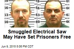 Smuggled Electrical Saw May Have Set Prisoners Free