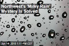 Northwest's 'Milky Rain' Mystery Is Solved
