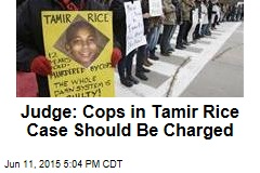 Judge: Probable Cause to Charge Cops Over Tamir Rice