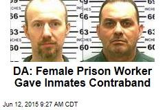 DA: Smitten Prison Worker Gave Inmates Contraband