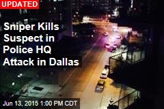 Cops: Gunmen Open Fire on Dallas Police HQ