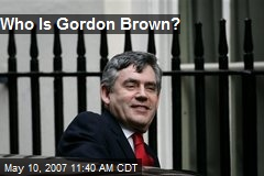 Who Is Gordon Brown?