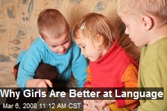 Why Girls Are Better at Language