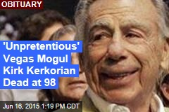 'Unpretentious' Vegas Mogul Kirk Kerkorian Dead at 98