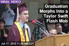 Graduation Morphs Into a Taylor Swift Flash Mob