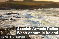 Spanish Armada Relics Wash Ashore in Ireland