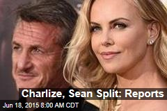 Charlize, Sean Split: Reports
