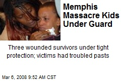Memphis Massacre Kids Under Guard