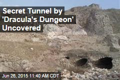 Secret Tunnel by 'Dracula's Dungeon' Uncovered