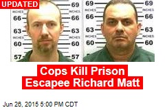 Reports: Cops Shoot Prison Escapee Richard Matt