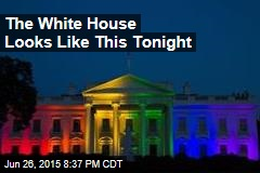 The White House Looks Like This Tonight