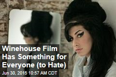 Winehouse Film Has Something for Everyone (to Hate)