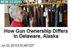 Big Factor in Gun Ownership: Your Friends