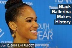 Black Ballerina Makes History