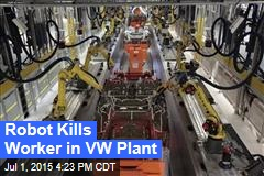 Robot Kills Worker in VW Plant